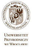logo WROCŁAW UNIVERSITY OF ENVIRONMENTAL AND LIFE SCIENCES